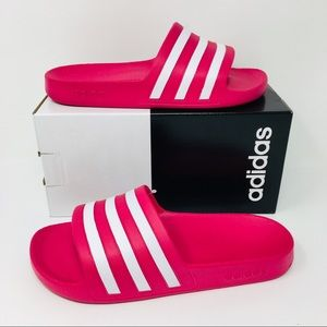 Adidas Adilette Aqua Women Slides Pink Slippers